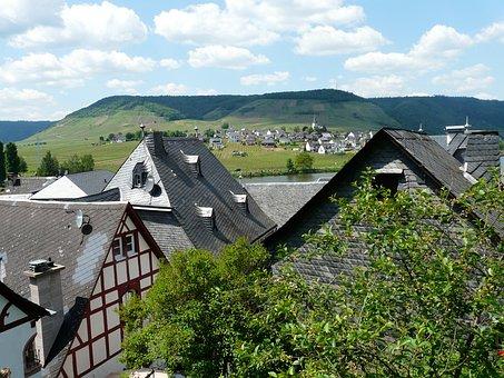 Beilstein, Mosel, City, Village, Homes, Municipality
