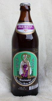 Augustiner, Maximator, Beer, Bottle, Drink, Beverage