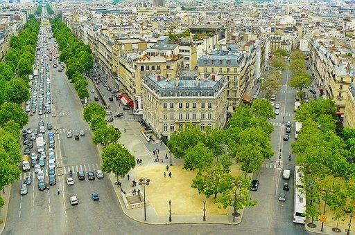 Paris, France, City, Road, Street View, City View