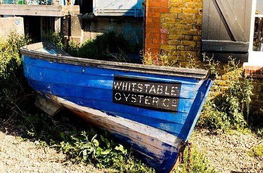 Boat, Fishing Boat, Coast, Fishing, Wooden Boat, Bay