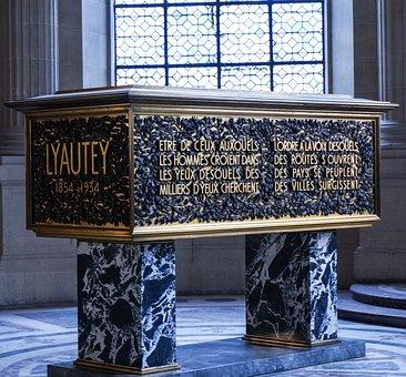 Paris, Invalides, Graves, Coffin, Marble, Dead
