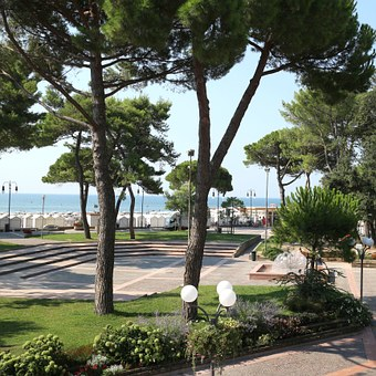 Grado, Space, Beach, Sea, View, Water, Vacations