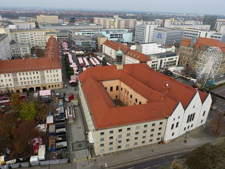 Magdeburg, Saxony-anhalt, View, Outlook, City