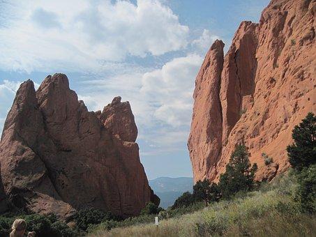 Garden Of The Gods, Mountain, Colorado, Springs, Garden