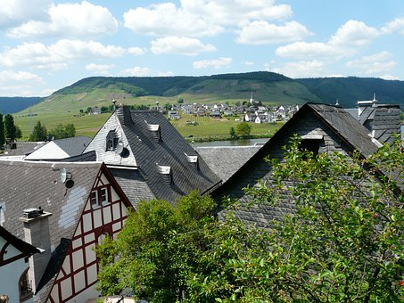Beilstein, Mosel, City, Village, Houses, Municipality