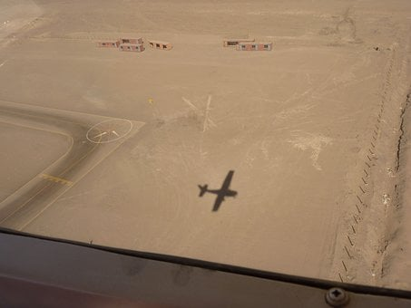 Nazca Level, Nazca, Flying, Aircraft, Airport