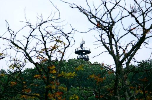 Observation Tower, Observation Post, Outlook, Distant