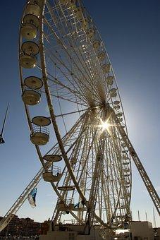 Wheel, Port, Ferris Wheel, Marseille