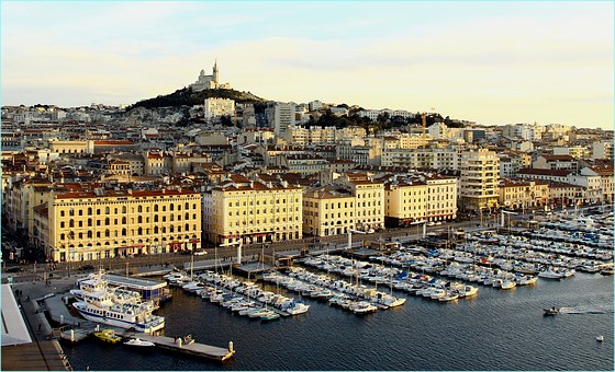 Marseille, Port, Lying Sun