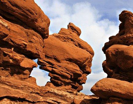 Red Rocks, Garden Of The Gods, Park, Colorado Springs