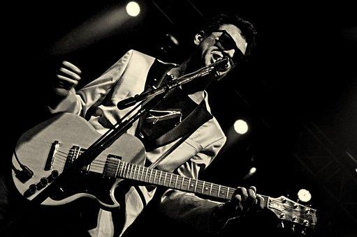 Rock, Concert, Richard Coleman, Musician, Guitar, Music