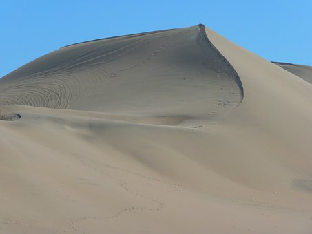 Dune, Desert, Dry, Hot, Sand, Dune Ridge, Nazca