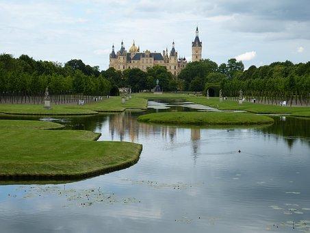 Schwerin, Castle, Mecklenburg