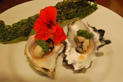 Oyster, Appetizer, Seafood, Shellfish, Gourmet, Raw