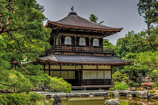 Ginkaku-ji, Temple, Kyoto, Japan, Asia, Garden