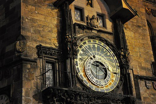 Prague, Clock, Tower, Astronomical, Old, Czech, Town