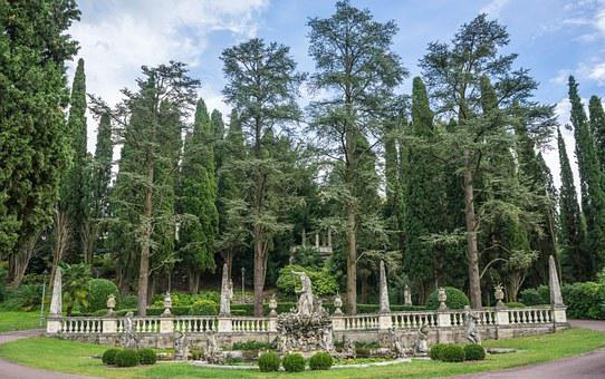 Lake Garda, Sirmione, Villa Cortine Palace, Italy