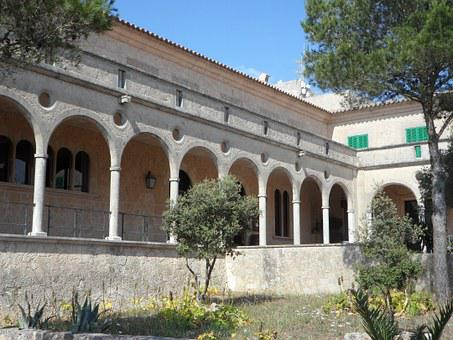 Archway, Arches, Arch, Cloister, Monastery, Covered