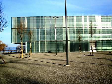 Building, New Building, Glass Facades, Architecture