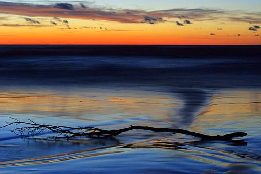 The Baltic Sea, Baltic, The Coast, Beach, Twilight