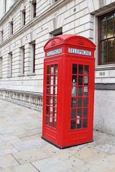 Booth, Box, Britain, British, Call, Classic, Design