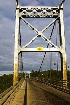 Bridge, Metal, British Columbia, Canada, Travel