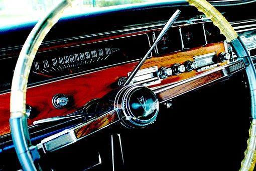 Pontiac, Car, Steering Wheel, Auto, Automobile, Fun