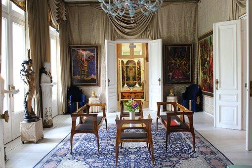 Culture, Art Nouveau, Ernst Fuchs, Otto Wagner, Villa