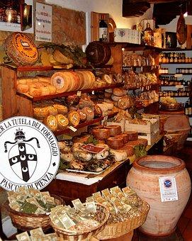 Cheese, Cheese Sales, Delicatessen, Deli, Tuscany
