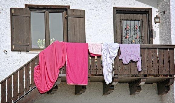 Wooden Windows, Wood, Balcony, Door, Input, Facade