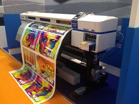 Machine, Printer, Printing, Ink, Color, Inkjet, Pantone