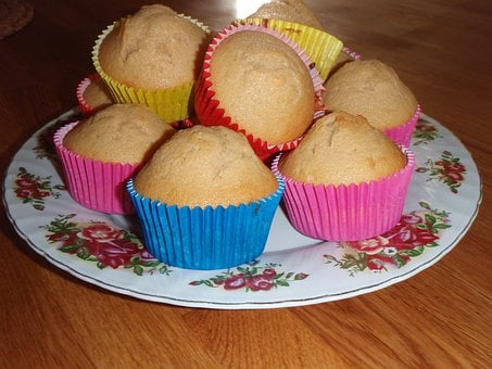 Muffins, Sweets, Kitchen, Yummy, Delicious, Cooking
