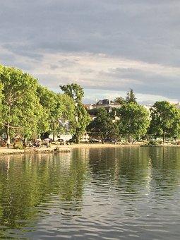 Lake, Summer, Foggy, Nature, Landscape, Travel, Water