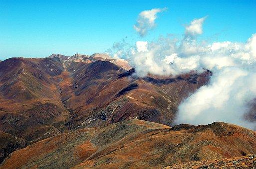 Puigmal, Mountain, Landscape, High Mountains, Mountains