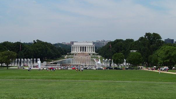 Lincoln Memorial, Washington, Seat Of Government, Usa