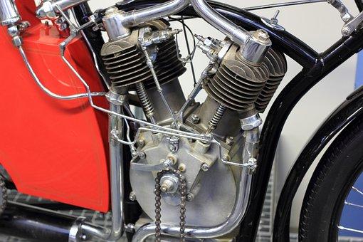 Czech, Republic, Prague, Technical, Museum, Motorcycle