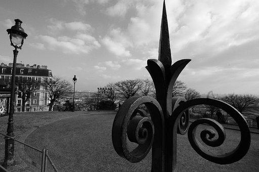 Parvis, Sacré-coeur, Place Du Tertre, Montmartre, Paris