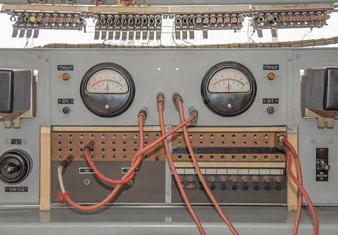 Armature, Electric, Radio, Aircraft, Gauge, Old