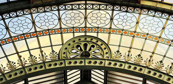 Round Arch, Window, Old, Building, Architecture, Arch