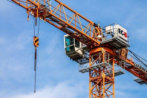 Crane, Tower Crane, Tdk, Lifting Machine, Slewing Ring