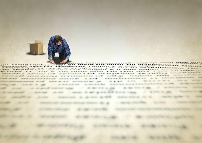 Type, Printer, Manual, Gutenberg, Work, Letters, Text