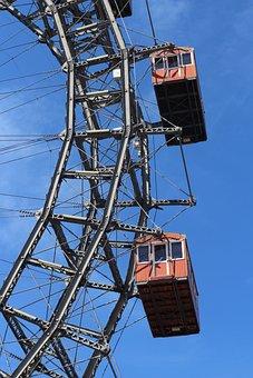 Ferris Wheel, Amusement Park, Prater, Vienna