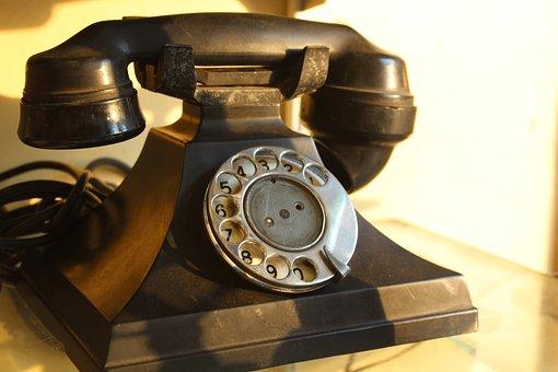 Telephone, Phone, Vintage, Antique, Retro, Dial, Rotary