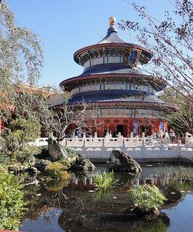 Walt, Disney, World, China, Pavillion