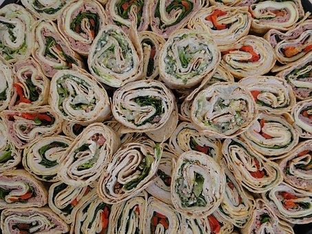 Wraps, Food, Tortilla, Healthy