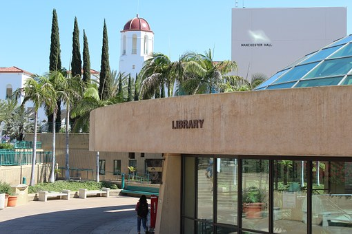 Library, San Diego State University, Dome, Architecture