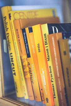 Books, Book, Yellow, Covers, Reading, Book Worm