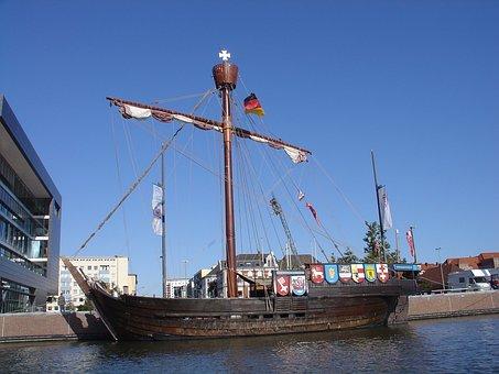 Rhampholeon Of Bremen, Bremer Kooge, Cog Ship