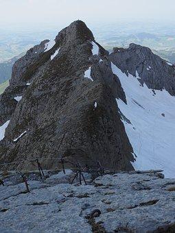 Girensattel, Girenspitz, Jacob's Ladder, Climbing
