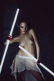 Light, Girl, Model, Erotica, Mejk, Guardian